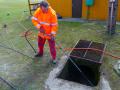 Čištění kanalizace, inspekce potrubí, vysokotlaké čištění