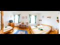 Stylov� ubytov�n� v hotelu, neku��ck� restaurace s letn� terasou Olomouc