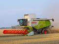 Sklizeň obilovin, kukuřice, služby zemědělcům Znojmo