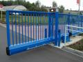 Dodávka a montáž vjezdových bran - samonosná posuvná brána
