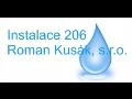 Montáž rozvodů vody, kanalizace, topení, plynu Zlín, Olomouc
