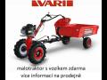 Akční nabídka VARI - český výrobce zahradní techniky od Děda
