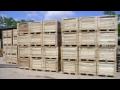 Přepravní dřevěné bedny, dřevovýroba Břeclav, Brno venkov