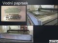 Řezání vodním paprskem, CNC dělení materiálu vodním paprskem Brno venkov
