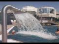 Öffentliche Schwimmbecken, Hotelbecken, Wellness Ausstattung Trynietz, die Tschechische Republik