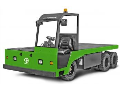 Elektrické plošinové vozíky v nosnostech od 1 do 15 tun.