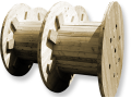 Production and export of wooden cable reels Olomouc, Prerov, the Czech Republic