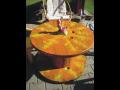 Stoly z cívek, dekorativní kabelové bubny, cívky originálně vybaví váš ...