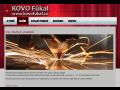 CNC laserové pálení, řezání,  CNC ohraňování , KOVO Fůkal s.r.o.