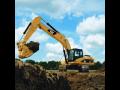 Stavební stroje, zemní a důlní stroje, stroje Caterpillar