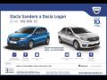 Prodej vozů Dacia Sandero, Dacia Logan