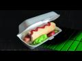 Plastové obaly na potraviny pro rychlé občerstvení