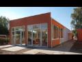 Ocelové haly, svařence, montované stavby nebo mateřské školy, stavební moduly