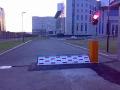 Parkovací zábrana, silniční bariéry, zábrany Praha
