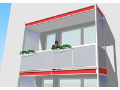 V�m�na balkonov�ho z�bradl� Brno