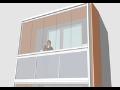 Zasklívání balkónů a lodžií, zasklení lodžie a balkonu Praha