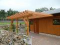 Montované stavebnice, dřevěné přístřešky, pergoly na míru Frenštát