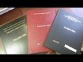 Vazba diplomové, bakalářské, závěrečné práce - profesionální knihařské práce
