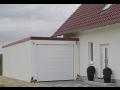 Montovaná garáž s omítkou postavena za den