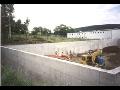 Betonáž základové desky rodinného domu, realizace, výstavba hrubé stavby