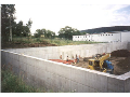 Beton� z�kladov� desky rodinn�ho domu, realizace, v�stavba hrub� stavby