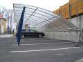 Kryté, zastřešené stání pro auto, přístřešek Ostrava, Frýdek-Místek