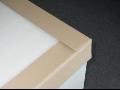 Ochranné lisované papírové rohy