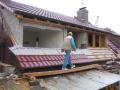 Ploché střechy-zateplení, izolace pomocí střešní PVC folie a polystyrenu
