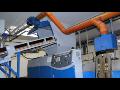 Zpracování plastových odpadů z výroby, recyklace plastových materiálů