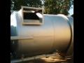 Strahlen von rostfreien Oberflächen mit Ballotine Brünn Modrice, Tschechien