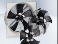Axiální ventilátory - výměna horkého nebo studeného vzduchu
