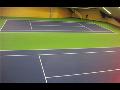 Akrylátové sportovní povrchy