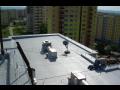Vodotěsné izolace plochých střech, balkonů, teras, bazénů a jezírek