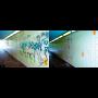 Odstranění graffitů a nápisu Ostrava