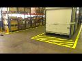Podlahové bezpečnostní značení - odolný podlahový nátěr