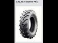 Kvalitní pneumatiky Galaxy na zemědělské a lesnické stroje