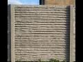 Výroba betonových plotů, výrobky z betonu - prodej, montáž