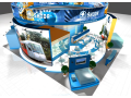 Bildende Lösung der Expositionen Brünn, Visualisierung von Entwürfen im 3D Studio, die Tschechische Republik