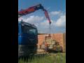 Autodoprava s HR  hydraulickou jeřábovou rukou
