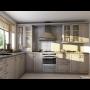 Modern� vzhled kuchyn� - f�liovan� kuchy�sk� dv��ka s grafick�mi motivy