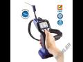 Měřící a detekční technika, analyzátory spalin-technika na měření