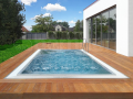 Nerezové bazény s protiproudem pro kondiční plavání - v plné výbavě