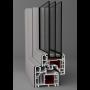 Dodatečné hliníkové opláštění oken Aluskin pro okenní systémy Midea, ...