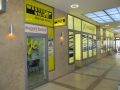 Ticketportal ticket office, Western Union, Prague, the Czech Republic