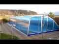 Zastřešení bazénů, plastové bazény