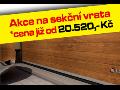 Garážová vrata LOMAX - sekční vrata, rolovací, průmyslová