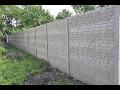 Kvalitní betonové plotové sloupky Pohořelice - výroba a prodej