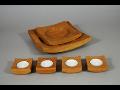 Dřevovýroba, designové dřevěné doplňky na stůl