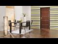 Skládací dveře, dodávka interiérových dveří a zárubní SAPELI