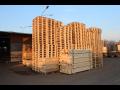 Dřevěné přepravní europalety - atypické palety nové i použité
